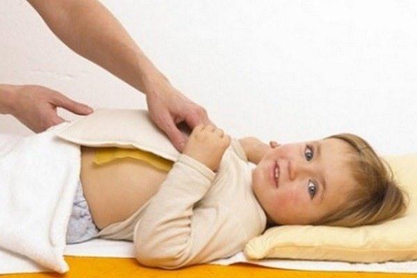 Компресс при кашле у ребенка