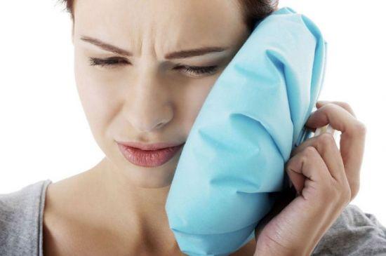 компресс к уху