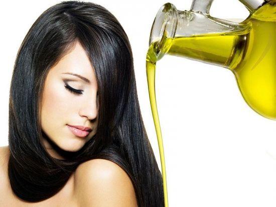 женщина и масло