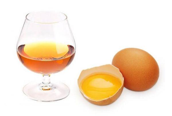 коньяк и яйцо