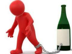 человечек и бутылка