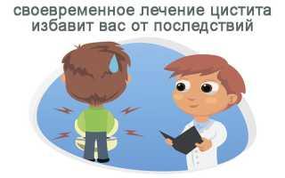 Цистит у мужчин и его лечение в домашних условиях