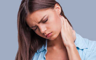 Если продуло шею: как лечить в домашних условиях